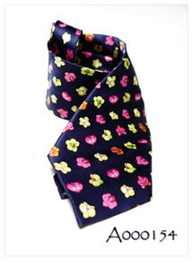 Wearable Orchids:  Limited Edition Orchid Tie