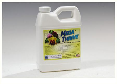 Mega Thrive- Foliar Plant Food for All Ornamentals- 1 Quart